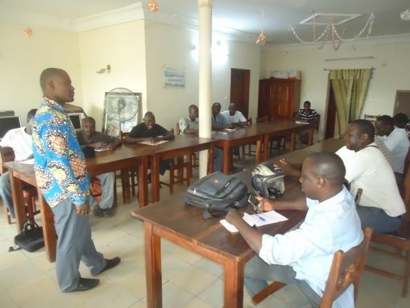 Renforcement de capacité des associations socioprofessionnelles : formation sur la vie associative