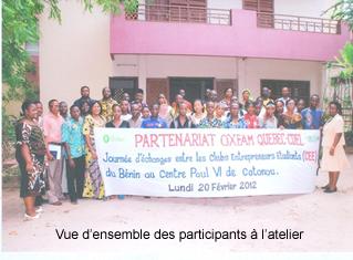 Journée d'échanges entre les Clubs Etudiants Entrepreneurs du Bénin