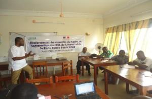 Renforcement de capacité du Cadre de Concertation des Organisations de la Société Civile de Cotonou : le plan stratégique a été élaboré avec succès