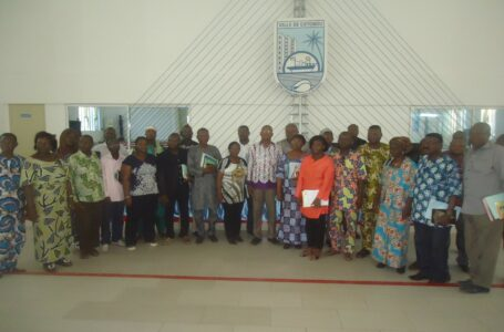 Partenariat CDEL – Ambassade de FRANCE Rencontre d'échanges avec les élus et cadres de la mairie de Cotonou