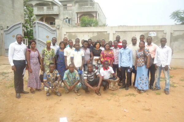 Atelier de sensibilisation des jeunes à l'entrepreneuriat  (Au profit de 32 jeunes mobilisés par l'ONG Africa TIC – Emplois)