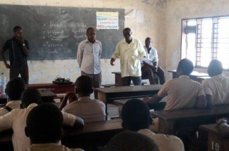 Lutte contre la consommation de la drogue en milieu scolaire : Installation du club de sensibilisation du CEG Le NOKOUE