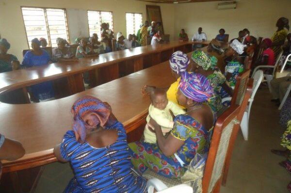 Accompagnement des femmes cultivatrices à Aplahoue