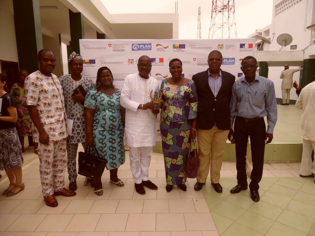 Les membres du CA du CDEL et les représentants de la Direction Exécutive du CDEL