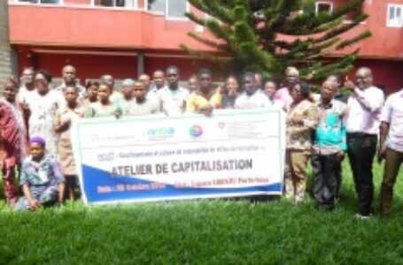 Capitalisation des acquis du projet Ecocitoyenneté et culture de redevabilité en milieu de formation