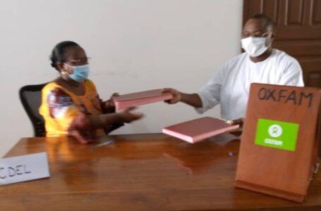 Nouveau partenariat entre Oxfam et CDEL